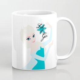 Elsa snowflake ~ Let it go Coffee Mug