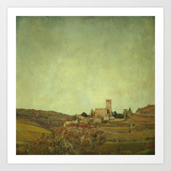 Above the Rhine Art Print