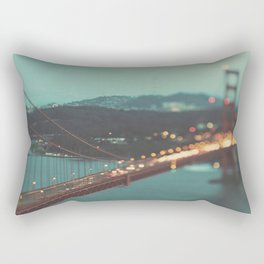 San Francisco Golden Gate Bridge, Sweet Light Rectangular Pillow