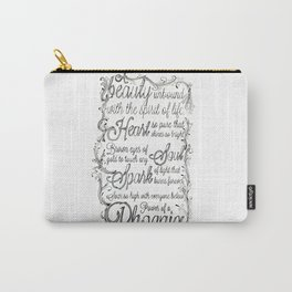 Phoenix Series, Poem in English (Part 2 0f 3) Carry-All Pouch