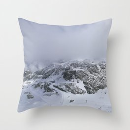 Mountains in June Throw Pillow