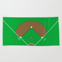 Baseball Field Team Sports Beach Towel