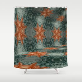 Iconic Hollows 21 Shower Curtain