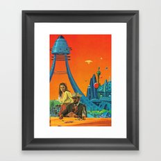 The Wild West Guide To The Galaxy # 199 Framed Art Print