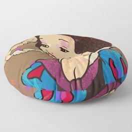 Snow White Girl Floor Pillow