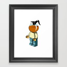 Leggo my coffee Framed Art Print