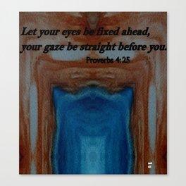 The Tunnel Vision Spiritual Art Canvas Print