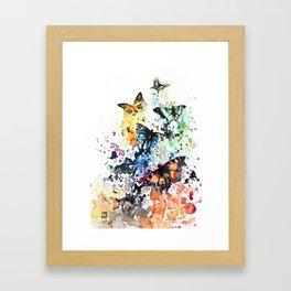 """""""Scattered"""" Framed Art Print"""