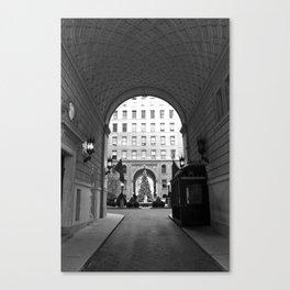 New York Building II Canvas Print