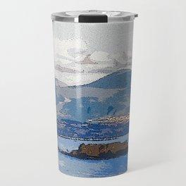 The Bay of Naples, Italy Travel Mug