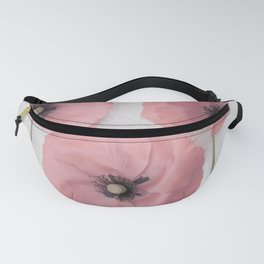 Pink Poppies Fanny Pack