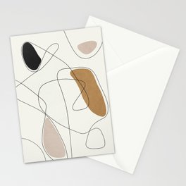 Thin Flow II Stationery Cards
