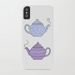 Patterned Teapots iPhone Case