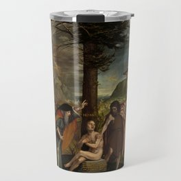 """Hans Holbein the Younger """"An Allegory of the Old and New Testaments"""" Travel Mug"""