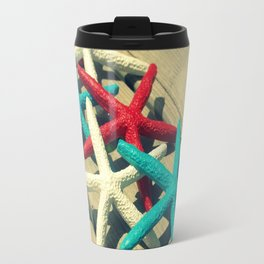 Patriotic Starfish Travel Mug