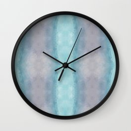Mozaic design in pastel colors Wall Clock