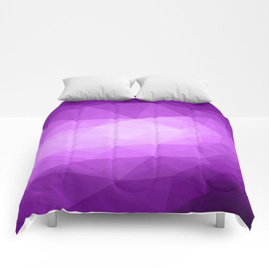 Geometric Polygonal Pattern 04 Comforters