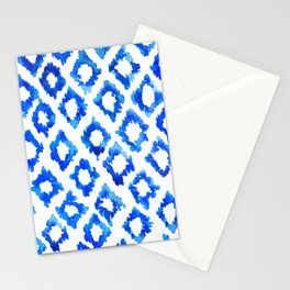 Abstract pattern watercolor Stationery Cards
