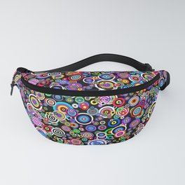Spots (Version 7) by Bruce Gray Fanny Pack