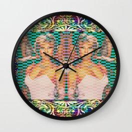 Foxy Vixen Wall Clock