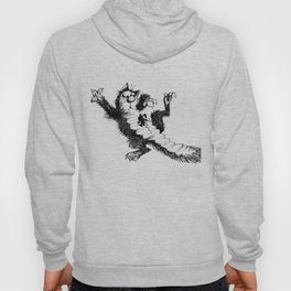 Cat and Mouse Art Hoody