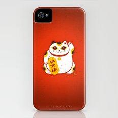 Lucky Cat 2 iPhone (4, 4s) Slim Case