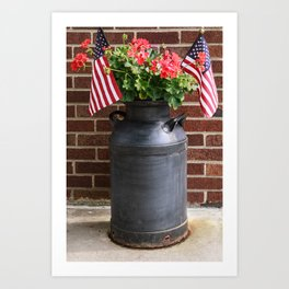 July 4th Art Print