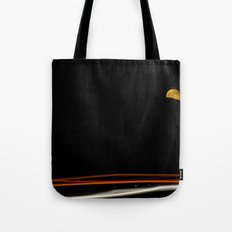 Moon on the 5 Tote Bag