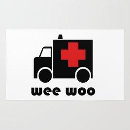 Ambulance Wee Woo Rug