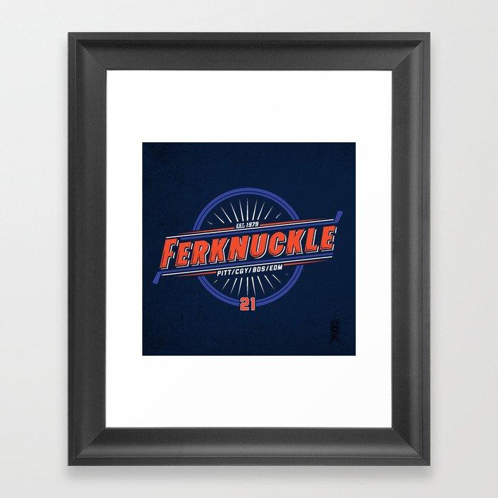 Ferknuckle-Edmonton Framed Art Print