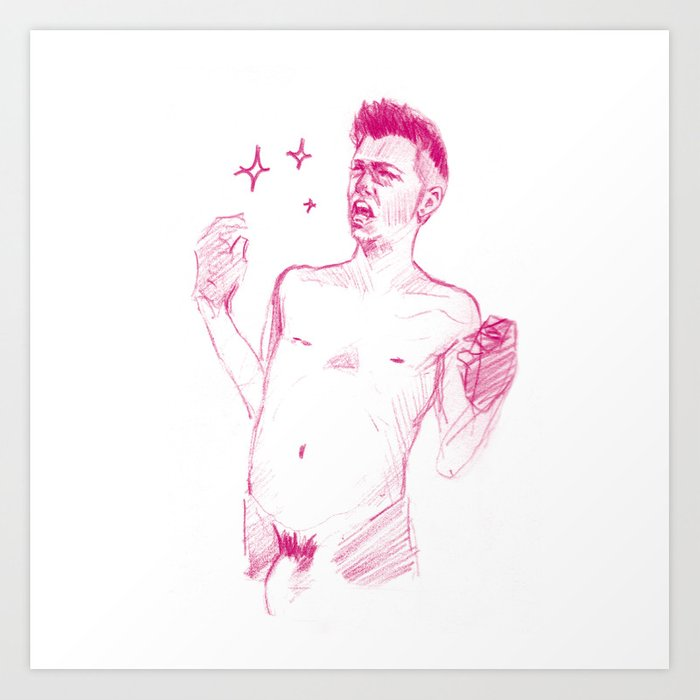 FAG 19 Art Print