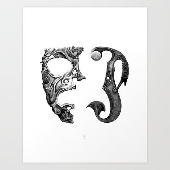 Imperfect Creatures Art Print