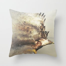 Stormhawk Throw Pillow