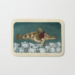 The Ice Fish Cometh Bath Mat