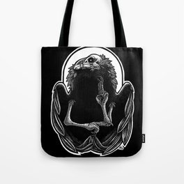 Wounded Raven God Tote Bag