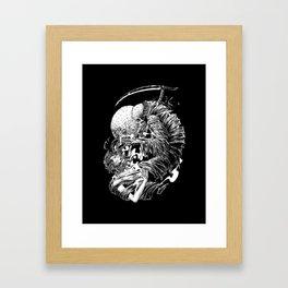 dead line Framed Art Print