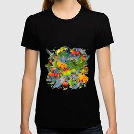 Parrots, parrots, parrots T-shirt