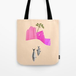 we watch them going Tote Bag