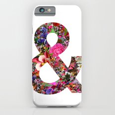& ampersand print iPhone 6s Slim Case