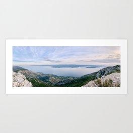 Brac Island in Croatia Art Print