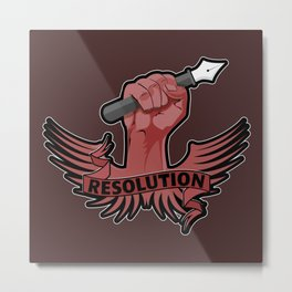 Viva la resolution! Metal Print