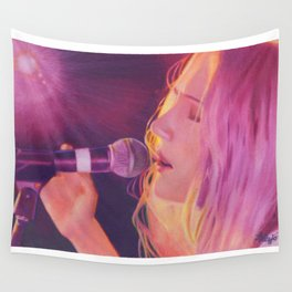 Sucre (Stacy King) Portrait Wall Tapestry