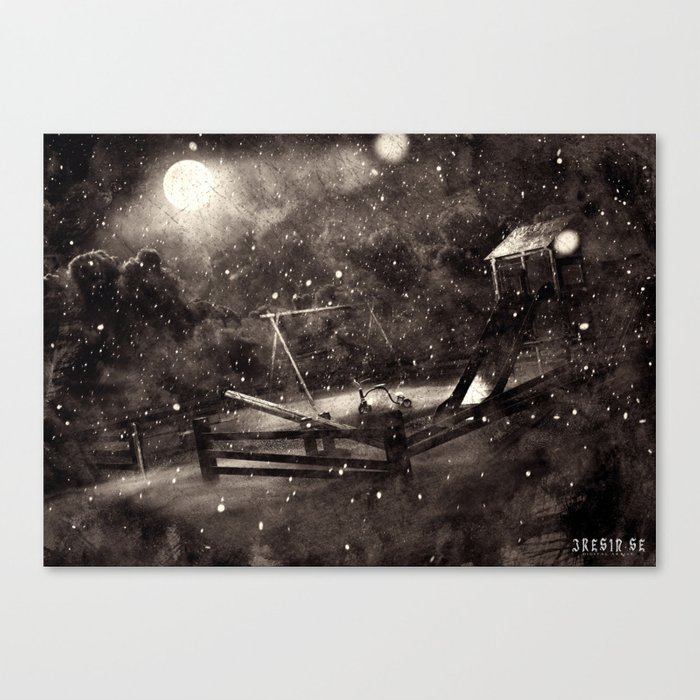 Poster - Playground Canvas Print