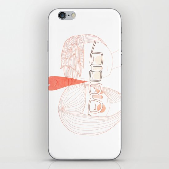 Nerd Kiss iPhone & iPod Skin