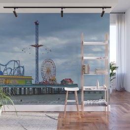 Pleasure Pier - Galveston Texas Wall Mural
