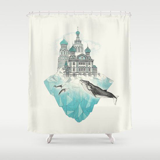 st peters-burg Shower Curtain