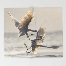Birds Throw Blanket