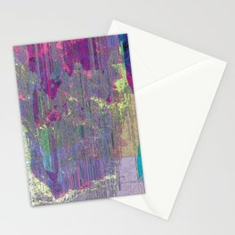 Falling in Purple Stationery Cards