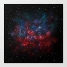 A nebula among the stars Canvas Print