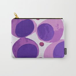Blood cells inspired illustration Carry-All Pouch